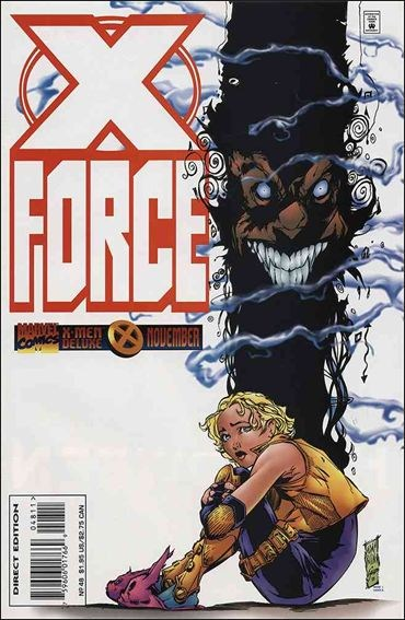 Couverture de X-Force Vol.1 (Marvel comics - 1991) -48- Intervention