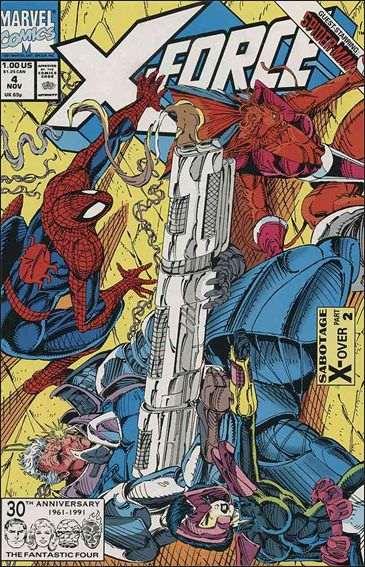 Couverture de X-Force Vol.1 (Marvel comics - 1991) -4- Sabotage part 2
