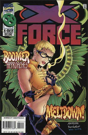 Couverture de X-Force Vol.1 (Marvel comics - 1991) -51- Reflections in the night