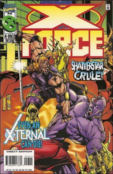 Couverture de X-Force Vol.1 (Marvel comics - 1991) -53- Even an X-Ternal can die