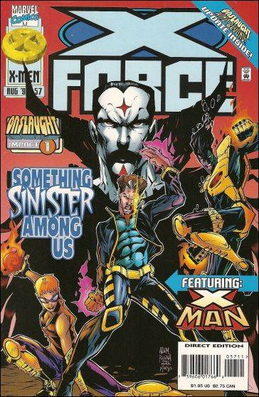 Couverture de X-Force Vol.1 (Marvel comics - 1991) -57- In the company of Strangers part 2 : the best laid plans
