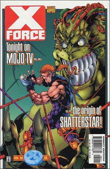 Couverture de X-Force Vol.1 (Marvel comics - 1991) -60- I know you are but what am i ?