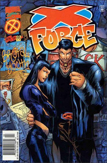 Couverture de X-Force Vol.1 (Marvel comics - 1991) -65- Lower east side story