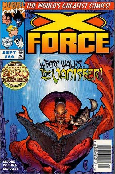 Couverture de X-Force Vol.1 (Marvel comics - 1991) -69- Roadside attractions