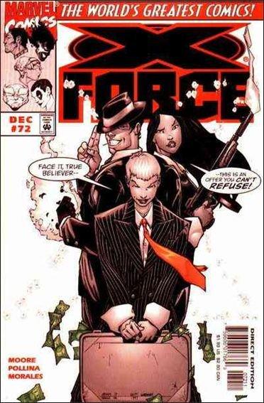 Couverture de X-Force Vol.1 (Marvel comics - 1991) -72- Lies and deception