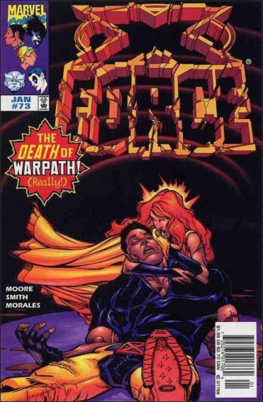 Couverture de X-Force Vol.1 (Marvel comics - 1991) -73- Stop motion