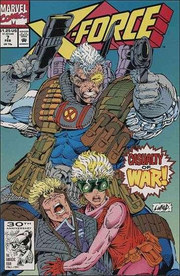 Couverture de X-Force Vol.1 (Marvel comics - 1991) -7- Under the knife