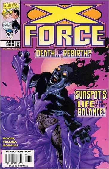 Couverture de X-Force Vol.1 (Marvel comics - 1991) -80- The fire within