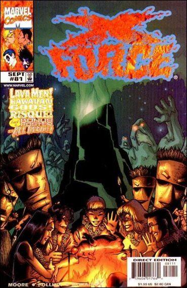 Couverture de X-Force Vol.1 (Marvel comics - 1991) -81- Hot lava