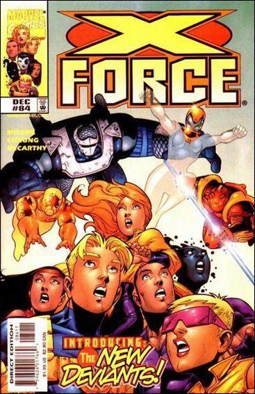 Couverture de X-Force Vol.1 (Marvel comics - 1991) -84- By the sword