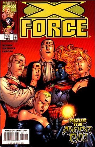Couverture de X-Force Vol.1 (Marvel comics - 1991) -85- Possession