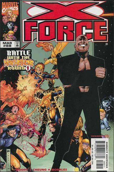 Couverture de X-Force Vol.1 (Marvel comics - 1991) -88- Armageddon now part 2 : blood & betrayal