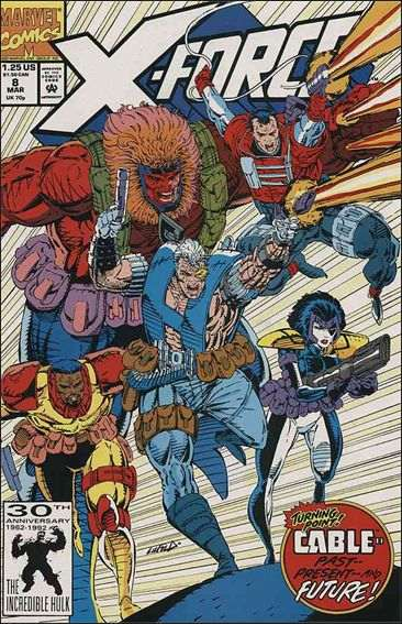 Couverture de X-Force Vol.1 (Marvel comics - 1991) -8- Flashed before my eyes