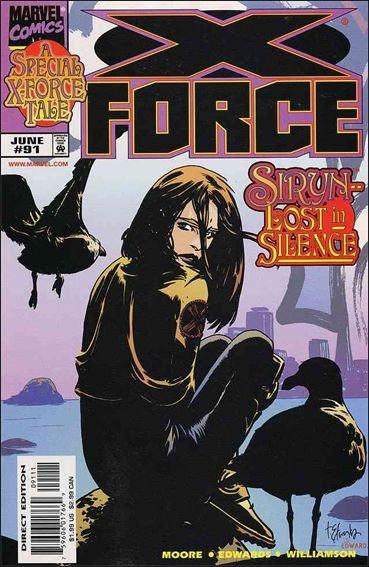Couverture de X-Force Vol.1 (Marvel comics - 1991) -91- Fallout