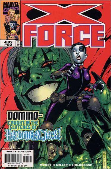 Couverture de X-Force Vol.1 (Marvel comics - 1991) -92- Strange interlude