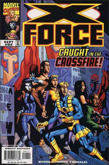 Couverture de X-Force Vol.1 (Marvel comics - 1991) -94- Artifacts & apocrypha