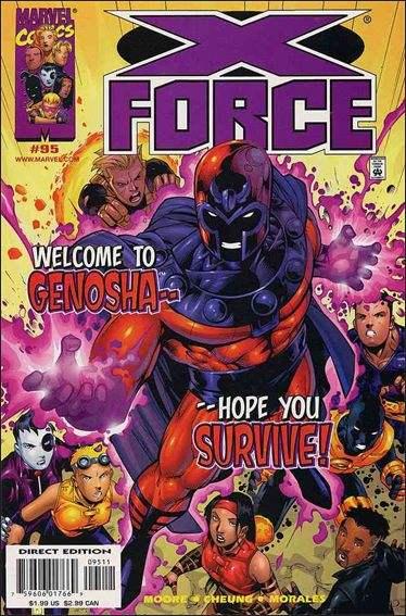 Couverture de X-Force Vol.1 (Marvel comics - 1991) -95- Magnetic distraction