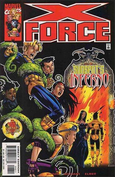 Couverture de X-Force Vol.1 (Marvel comics - 1991) -98- Temptation