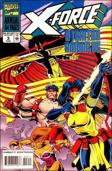 Couverture de X-Force Vol.1 (Marvel comics - 1991) -AN03- In deep / Syrin song