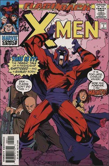 Couverture de X-Men (1991) -0-1- I had a dream