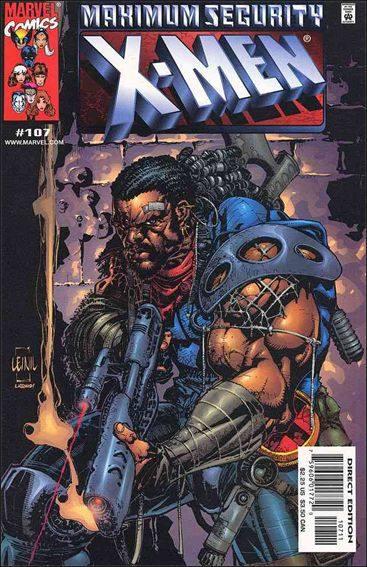 Couverture de X-Men (1991) -107- On the yard