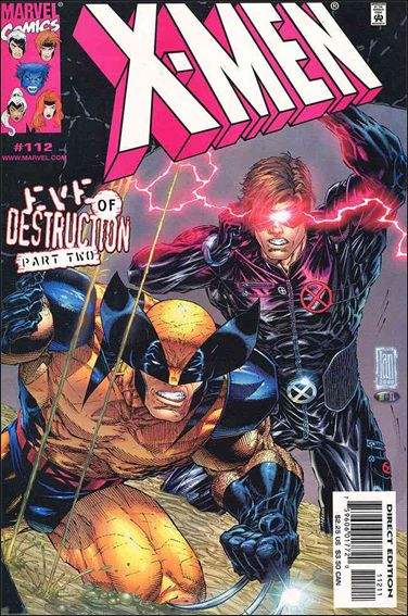 Couverture de X-Men (1991) -112- Eve of destruction part 2