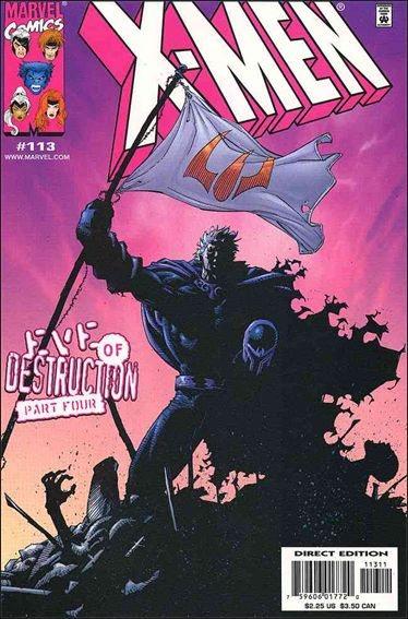 Couverture de X-Men (1991) -113- Eve of destruction part 4