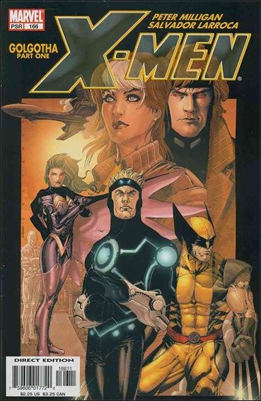 Couverture de X-Men (1991) -166- Golgota part 1 : and what dark beast