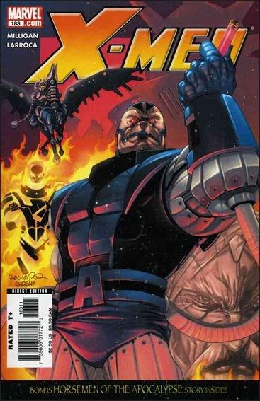 Couverture de X-Men (1991) -183- The blood of Apocalypse part 2 : the hunger