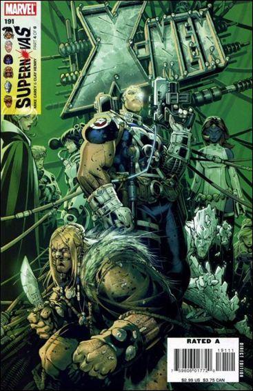 Couverture de X-Men (1991) -191- Supernovas part 4