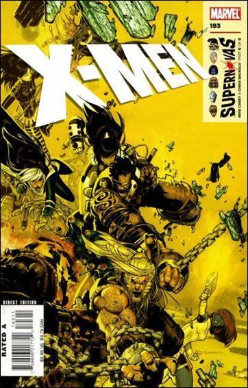 Couverture de X-Men (1991) -193- Supernovas part 6