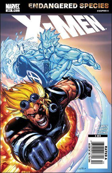 Couverture de X-Men (1991) -201- Blinded by the light part 2