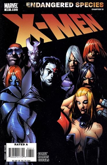 Couverture de X-Men (1991) -203- Blinded by the light part 4