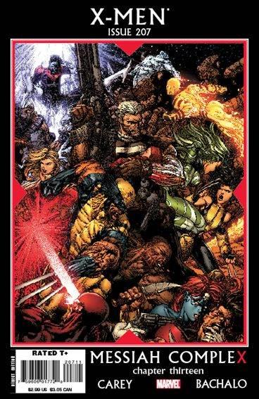 Couverture de X-Men (1991) -207- Messiah complex part 13