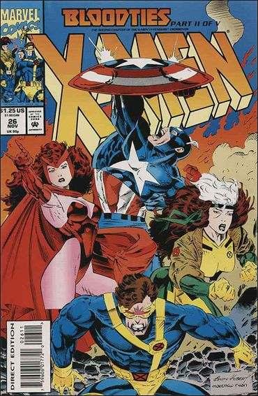 Couverture de X-Men (1991) -26- Bloodties part 2 : civil desobedience
