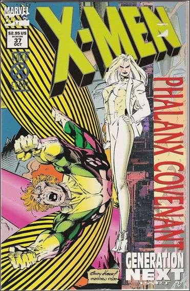 Couverture de X-Men (1991) -37- Phalanx convenant generation next part 4 : the currents shift