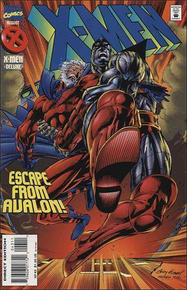 Couverture de X-Men (1991) -43- Falling from grace