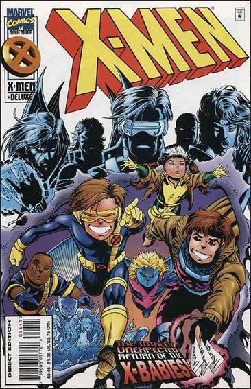 Couverture de X-Men (1991) -46- They're Baaack...