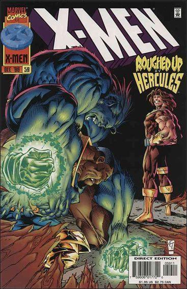 Couverture de X-Men (1991) -59- Touched