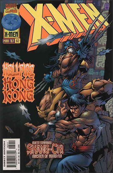 Couverture de X-Men (1991) -62- Games of deceit & death part 1