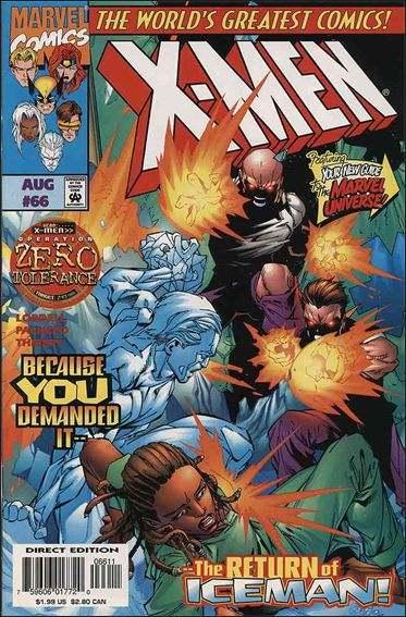 Couverture de X-Men (1991) -66- Start spreading the news