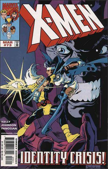Couverture de X-Men (1991) -73- The elements within us
