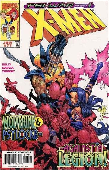 Couverture de X-Men (1991) -77- Psy-war : stormfront part 1
