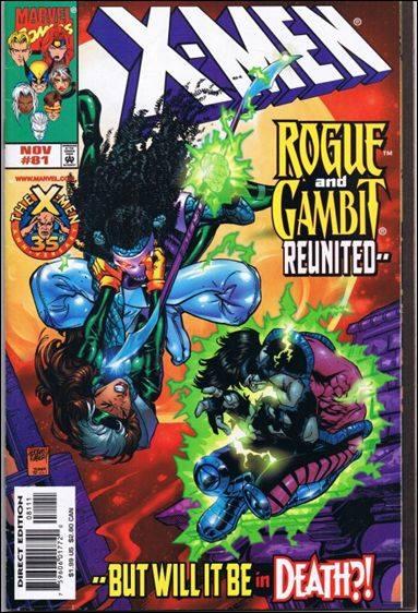 Couverture de X-Men (1991) -81- Jack of hearts - queen of death