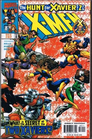 Couverture de X-Men (1991) -82- The hunt for xavier part 2 : hunt for charly