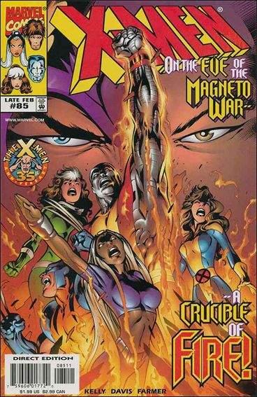 Couverture de X-Men (1991) -85- A tale of two mutants