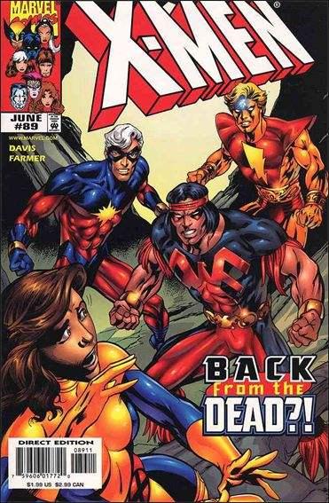 Couverture de X-Men (1991) -89- Yesterday's news