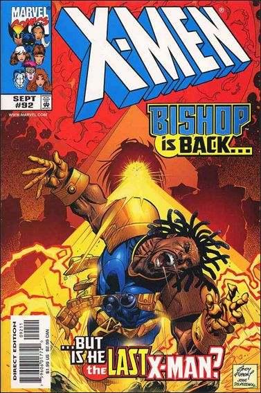 Couverture de X-Men (1991) -92- Dream's end part 2 : pressure points