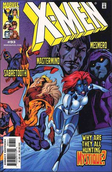 Couverture de X-Men (1991) -93- Hidden lives part 1 : open wounds