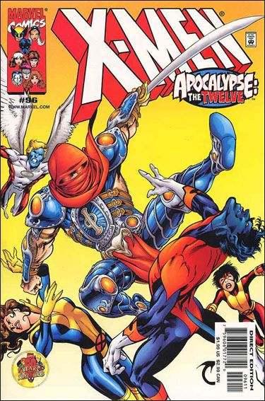 Couverture de X-Men (1991) -96- The gathering